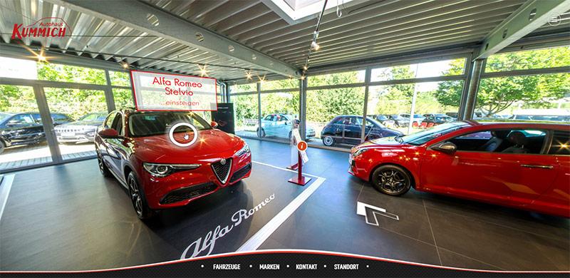 R2DS - Virtueller Rundgang - Autohaus Kummich