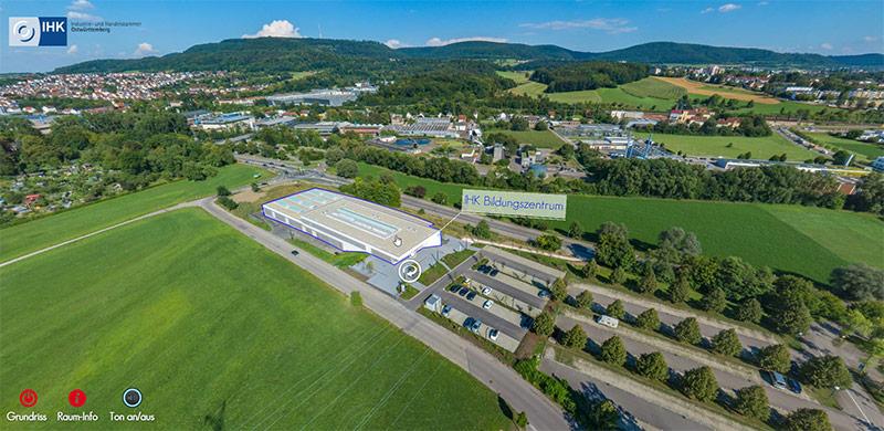 R2DS - Virtueller Rundgang - IHK Bildungszentrum Aalen
