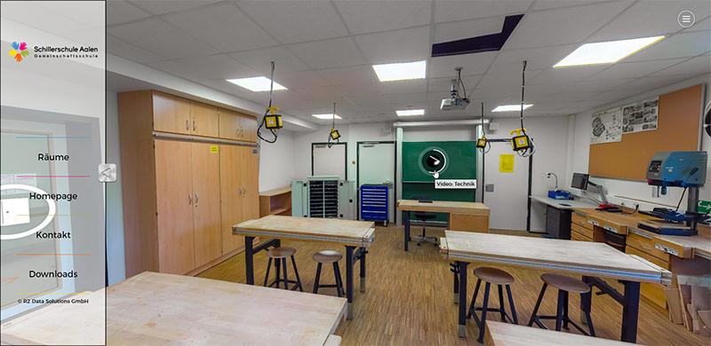 R2DS - Virtueller Rundgang - Schillerschule Aalen